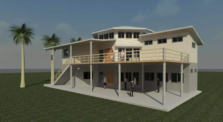 Belize: Dental Clinic, completed and operating