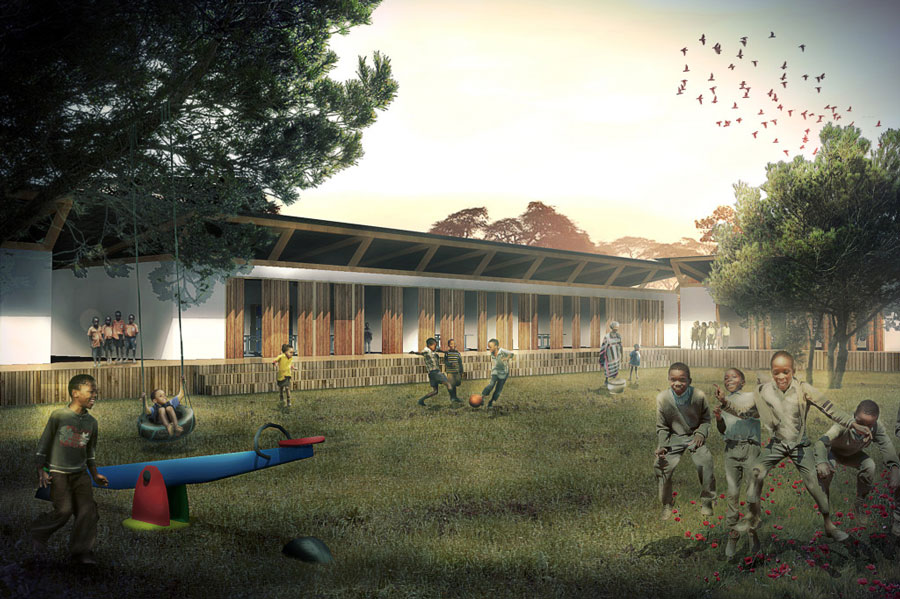 TANZANIA: Kili Centre orphanage, designed by Red Studio