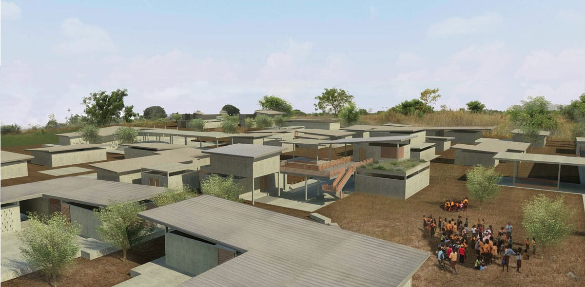 GHANA: Akatsi secondary school, designed by Anna Nagasugi