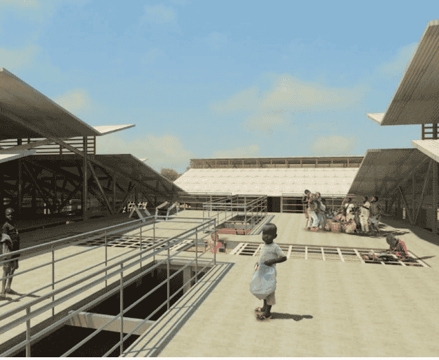 SOUTH SUDAN: Mairo primary school, designed by Nicole Thompson