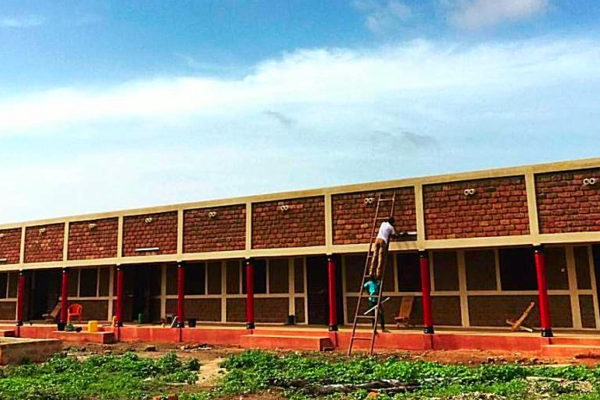 BURKINA FASO: Bobo Dioulasso tech school, designed by Anna Van Wickle