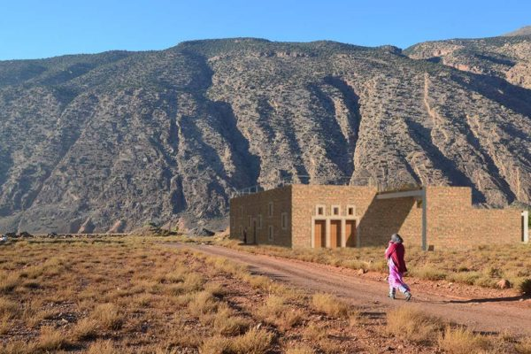 MOROCCO: primary school, designed by Ismail Elkasmi