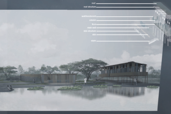 INDIA: wetland rehab, designed by Keilan Meertens and Martha Campos