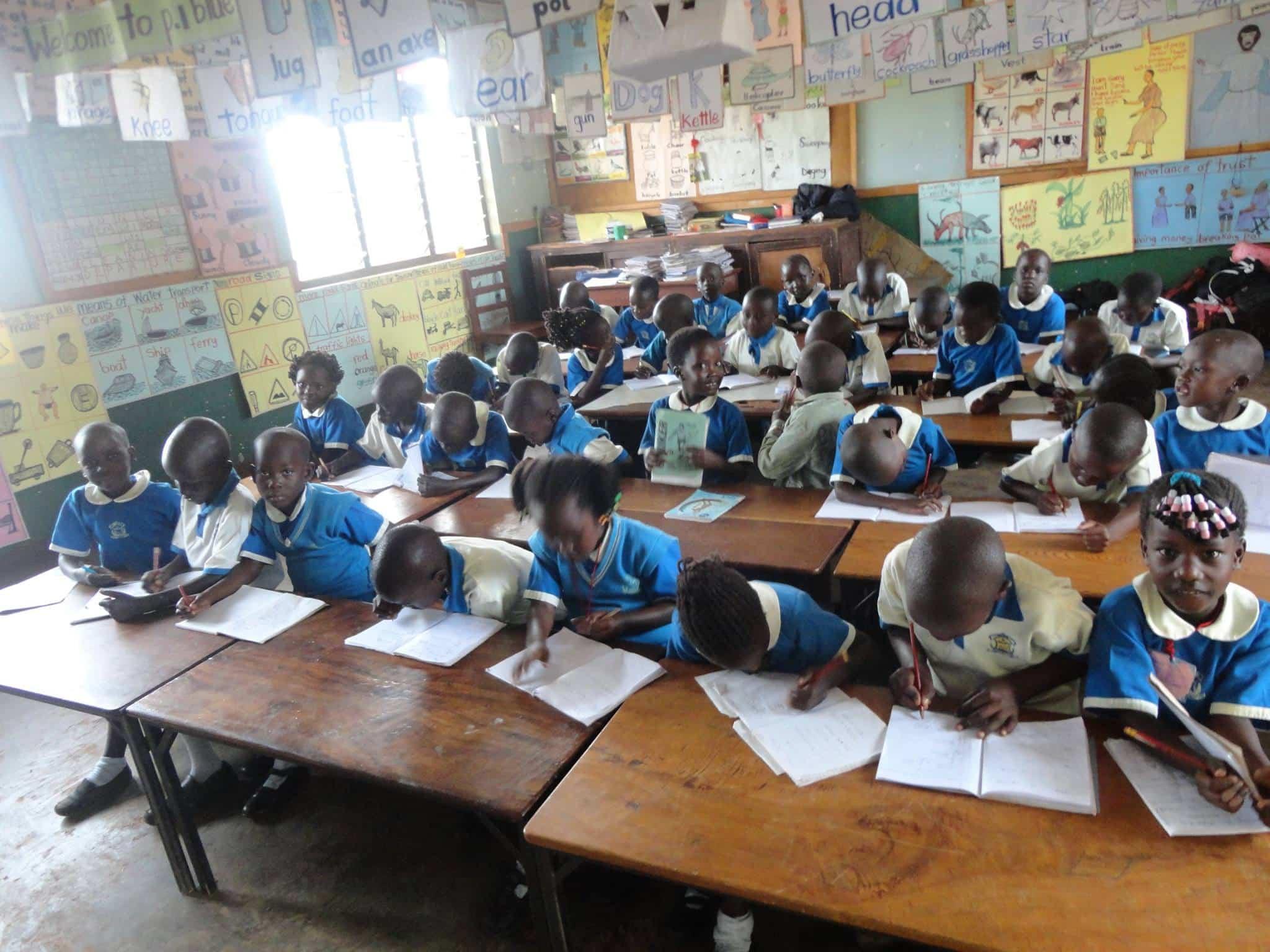 UGANDA: ESHO Primary School designed by Francesco Stumpo, sponsorship available