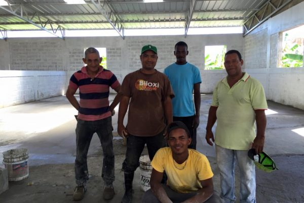 Dominican Republic: Vocational Center, phase 1 complete, phase 2 in construction