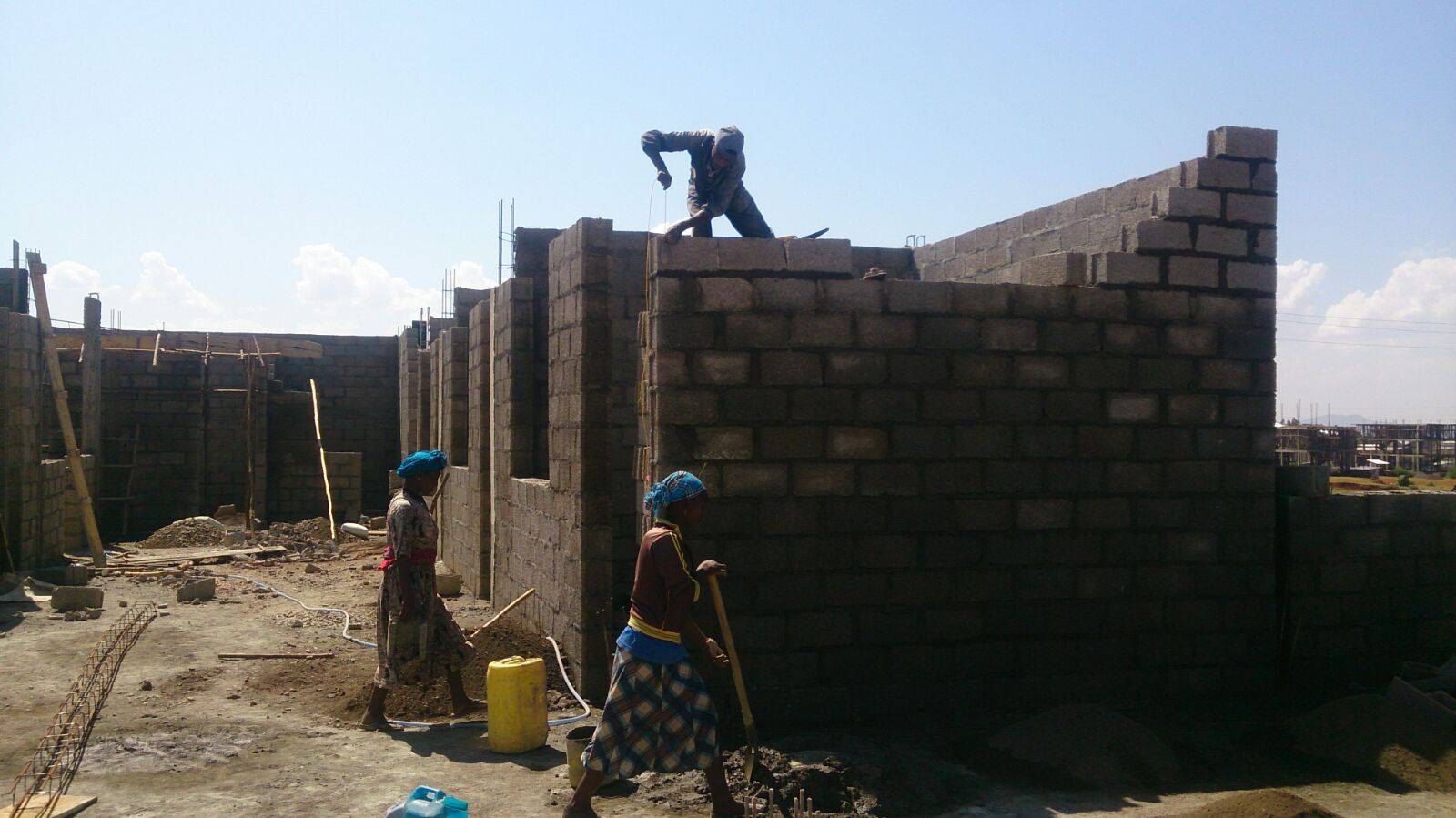 Ethiopia: Hospital, in construction