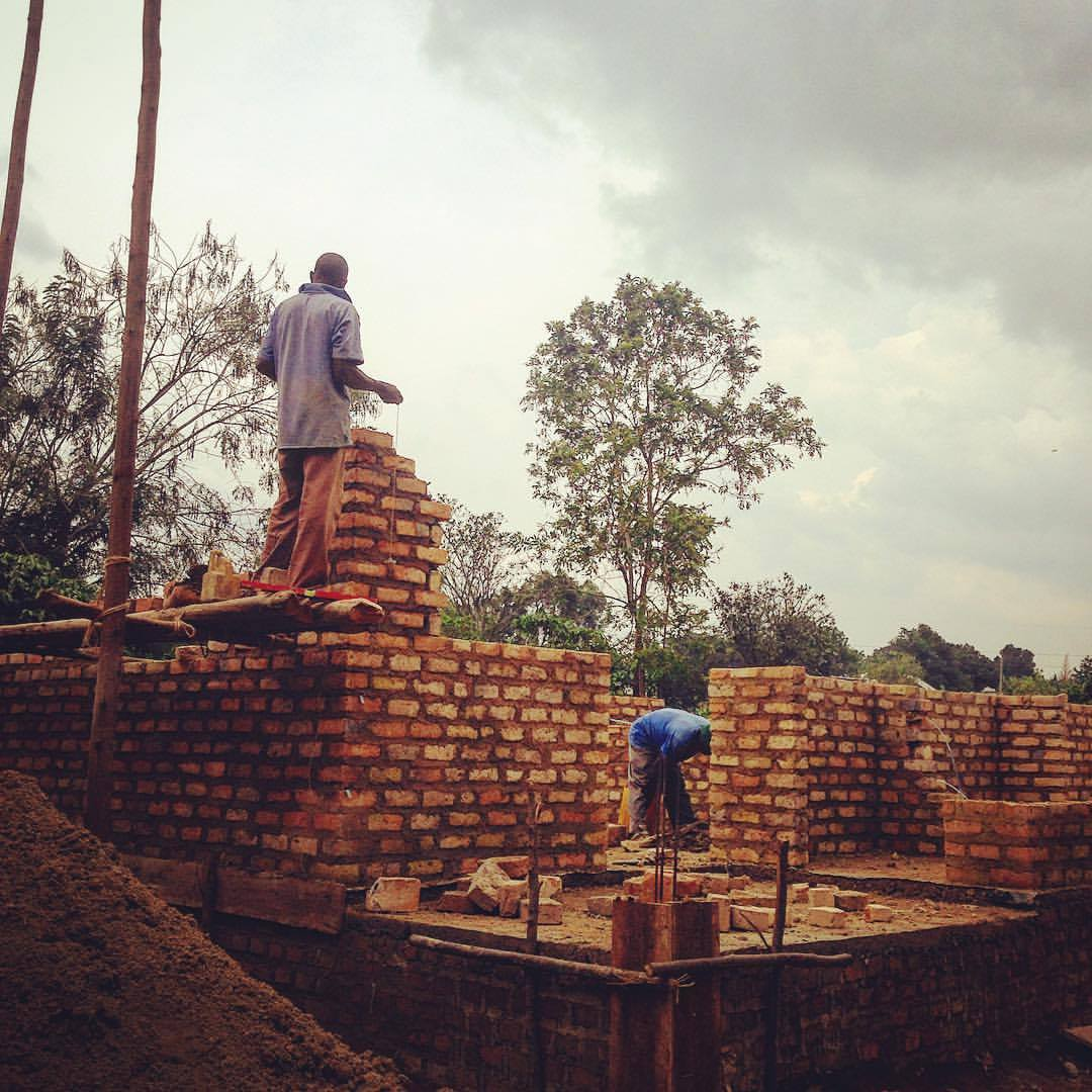 Uganda: Vocational Center, phase 1 completed and operating