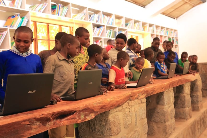 Rwanda: Sunzu Village Library, completed and operating