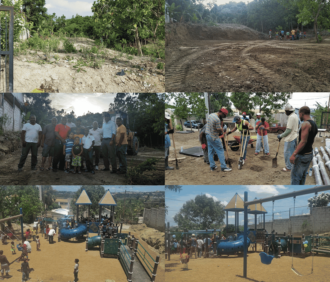 Dominican Republic: Church and School, phase 1 complete, phase 2 in construction