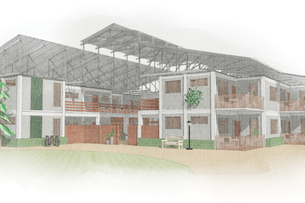 CAMEROON: orphanage and soccer academy, designed by Sophia Liu, Simon Ng, and Gary Hobach