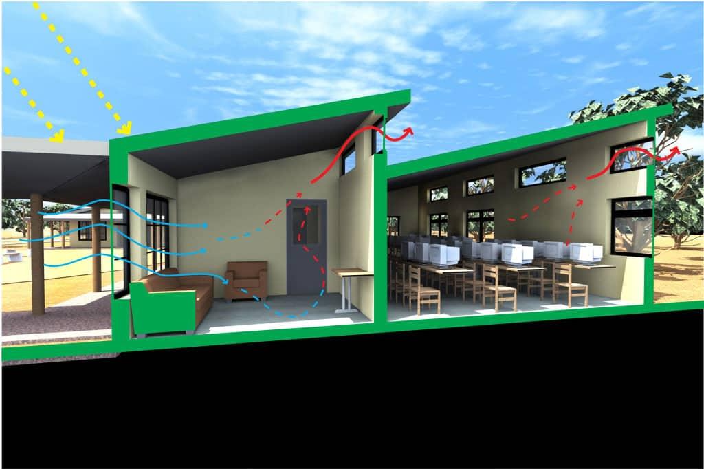 ZAMBIA: Community development center, designed by Samantha Nason