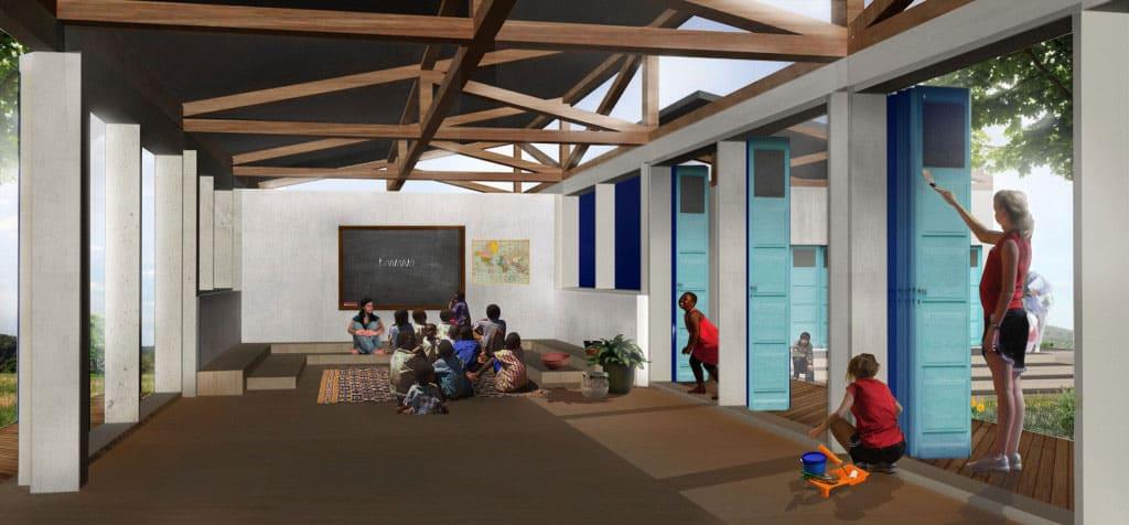 TANZANIA: Kili Centre orphanage, designed by Red Studio