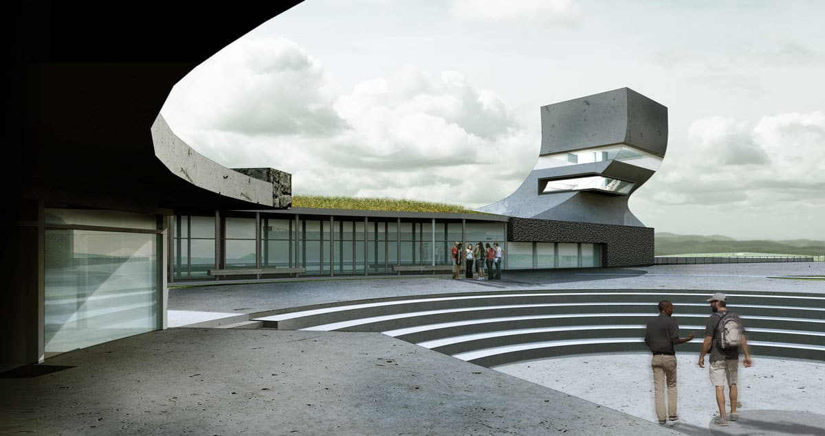 CAMEROON:  Think-Tank, designed by Derek McFarland