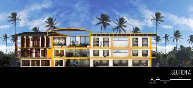 PHILIPPINES: orphanage, training center and church, designed by Paige Taff Cook