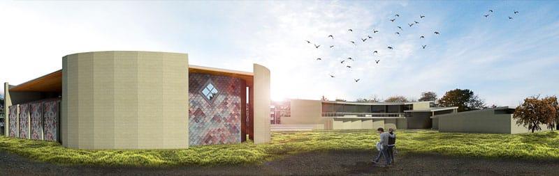 EL SALVADOR: Zacamil community center, designed by Jonathan Allen