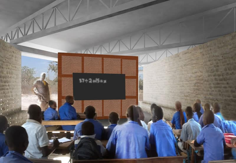 CHAD: Bekourou School, designed by Megan Snyder