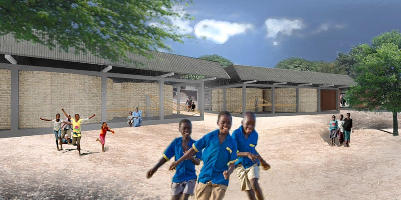 CHAD: Bekourou School, designed by Megan Snyder