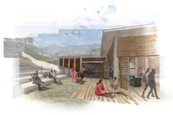 NEPAL: leadership center, designed by Jamie Elderkin and Nick Petrarca