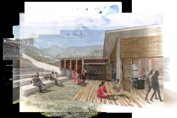 NEPAL: leadership center, designed by Jamie Elderkin and Nick Petrarca