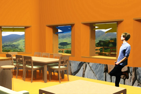 BRAZIL: vocational center, designed by Stephanie Carl and Elliot Gertner