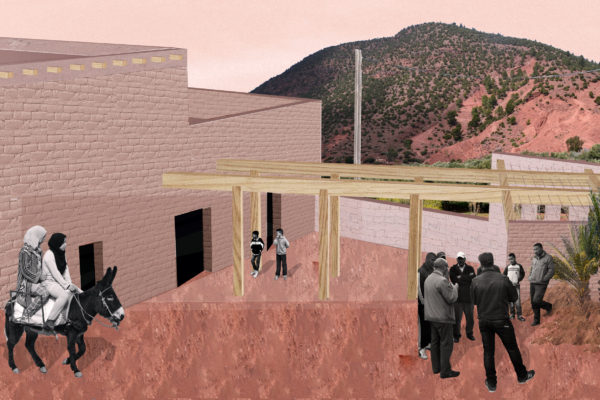 MOROCCO: educational center for women and children, designed by Rocio Aviles