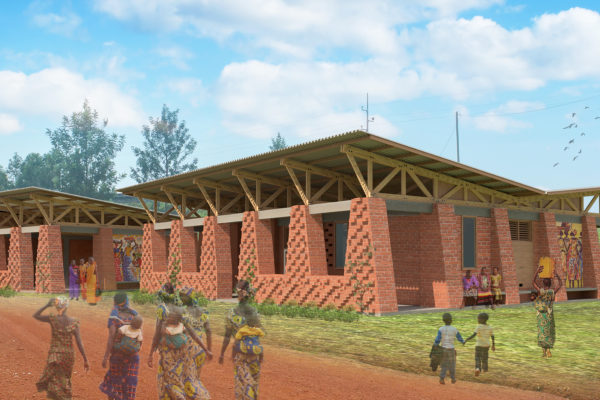 RWANDA: Women's Co-op and Library by Amanda Stahler, Tia Deharpport, Tanya Wohlfarth, and Dustin Sullivan