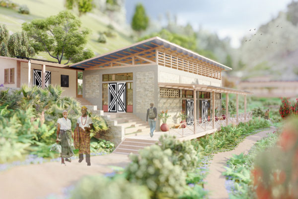 RWANDA: Kilimbi Eco-Lodge and Community Center by Rebecca Johnson, Serena Reeves, and Chris Audi